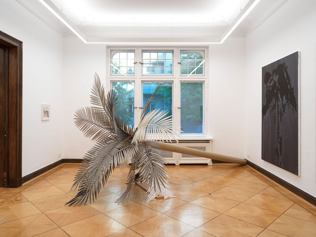 Art In Paradise D Exhibition Hall : Paradise is now palm trees in art robert grunenberg